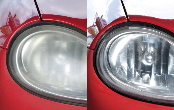 Dirty vs. Clean Headlights