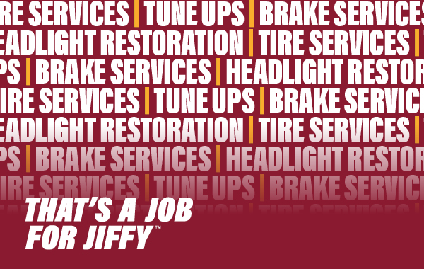 that's a job for jiffy